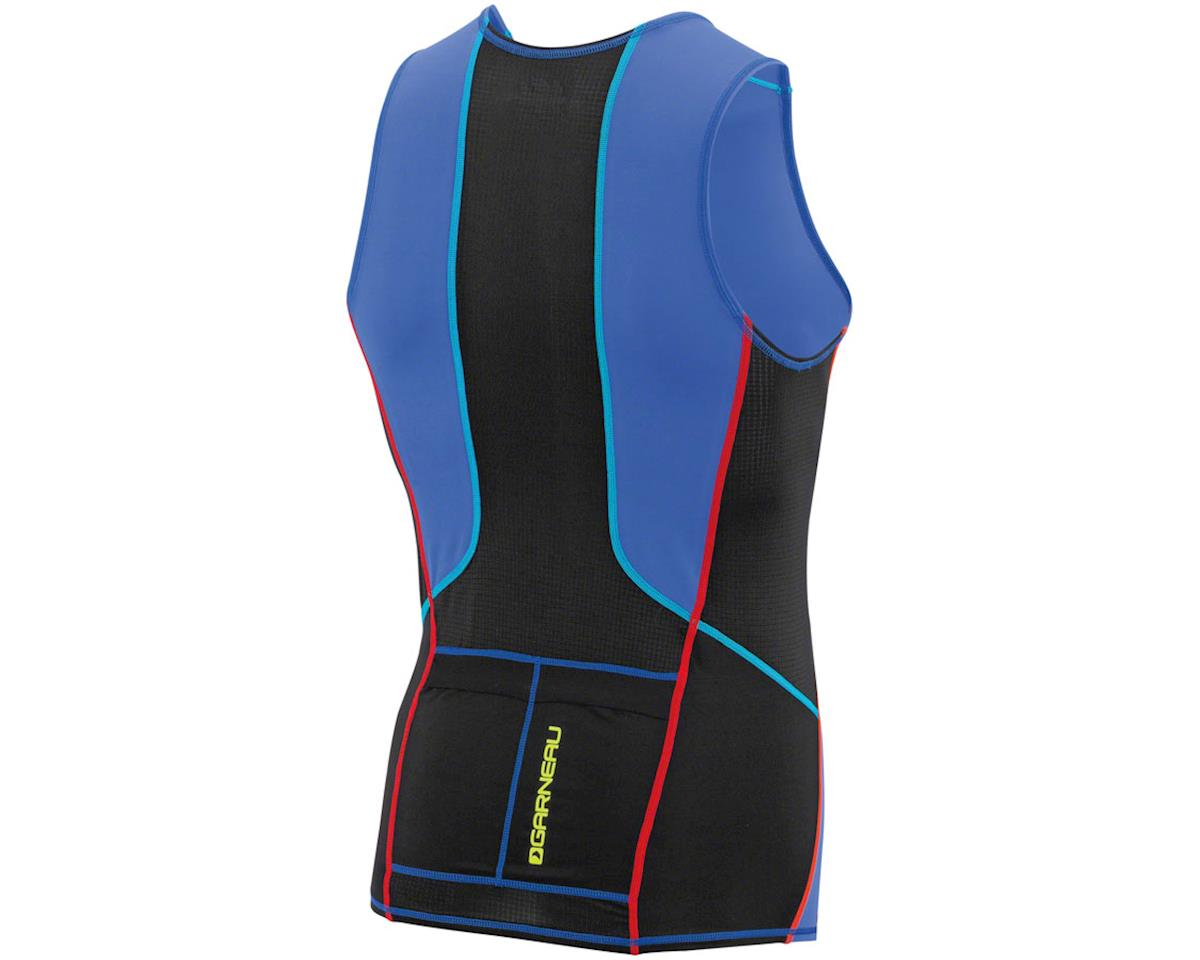 Louis Garneau Comp Sleeveless Tri Top (Multi Color) (XL)