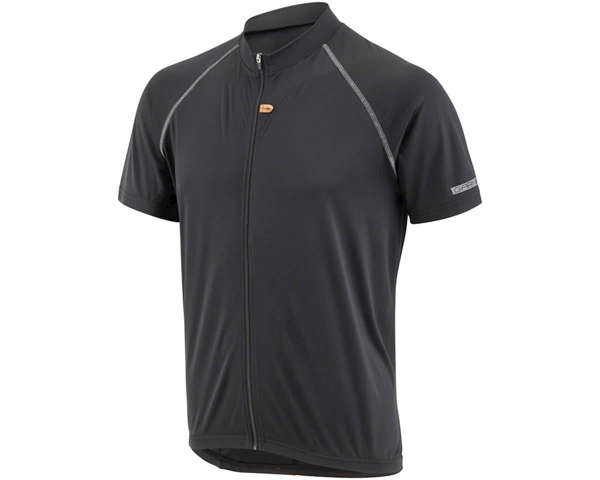 Garneau Manchester Men's Jersey: Black 2XL