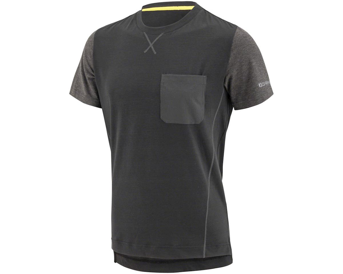 Louis Garneau T-Dirt Jersey (Black/Grey) (S)