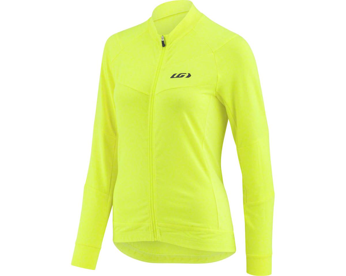 Louis Garneau Women's Beeze Jersey (Bright Yellow) (XL)