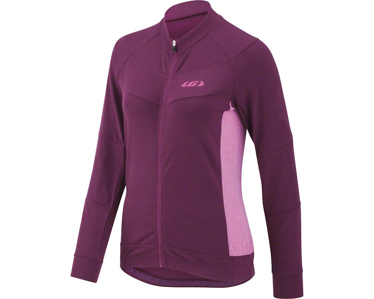 Louis Garneau Women's Beeze Jersey (Magenta Purple) (XL)