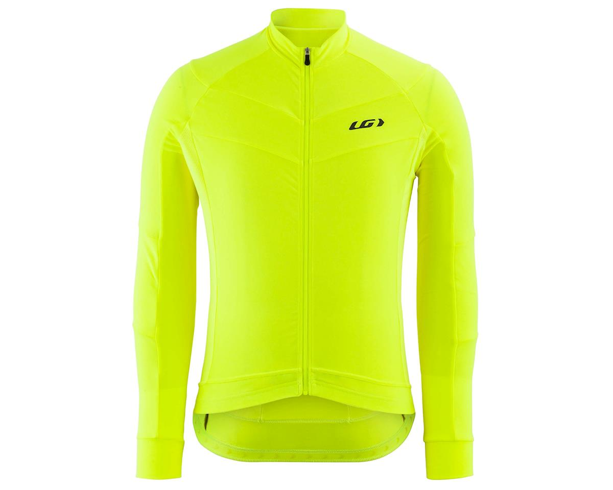 Louis Garneau Lemmon Long Sleeve Jersey (Bright Yellow) (L)