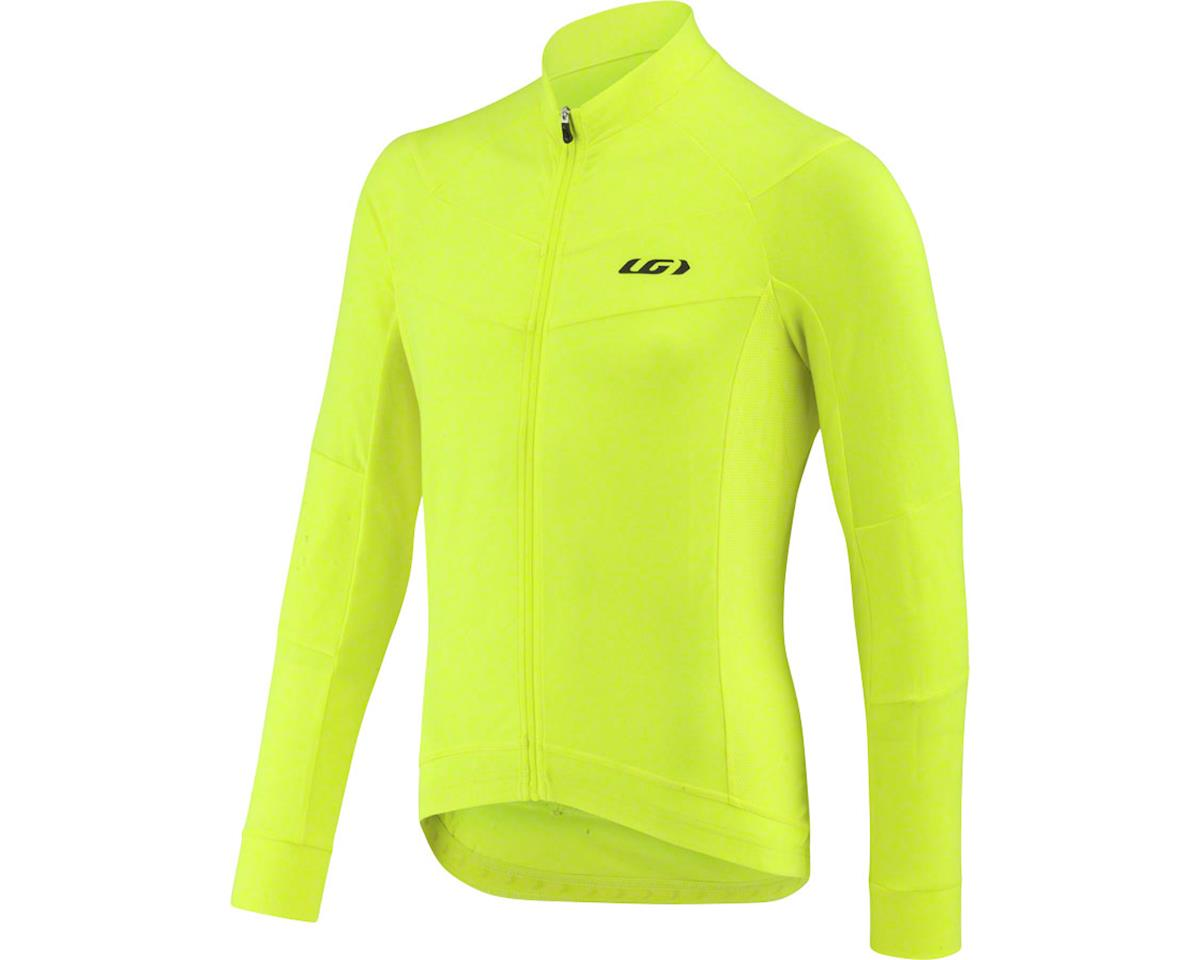 Louis Garneau Lemmon Long Sleeve Jersey (Bright Yellow) (S)