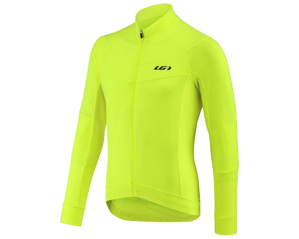 Louis Garneau Lemmon Long Sleeve Jersey (Bright Yellow) (XL)