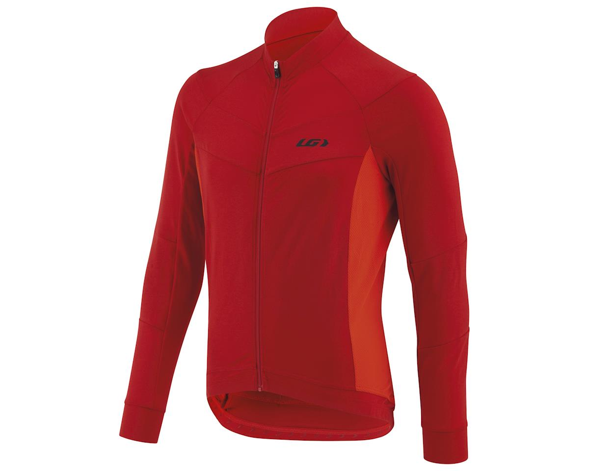 Louis Garneau Lemmon Long Sleeve Jersey (Barbados Cherry) (L)