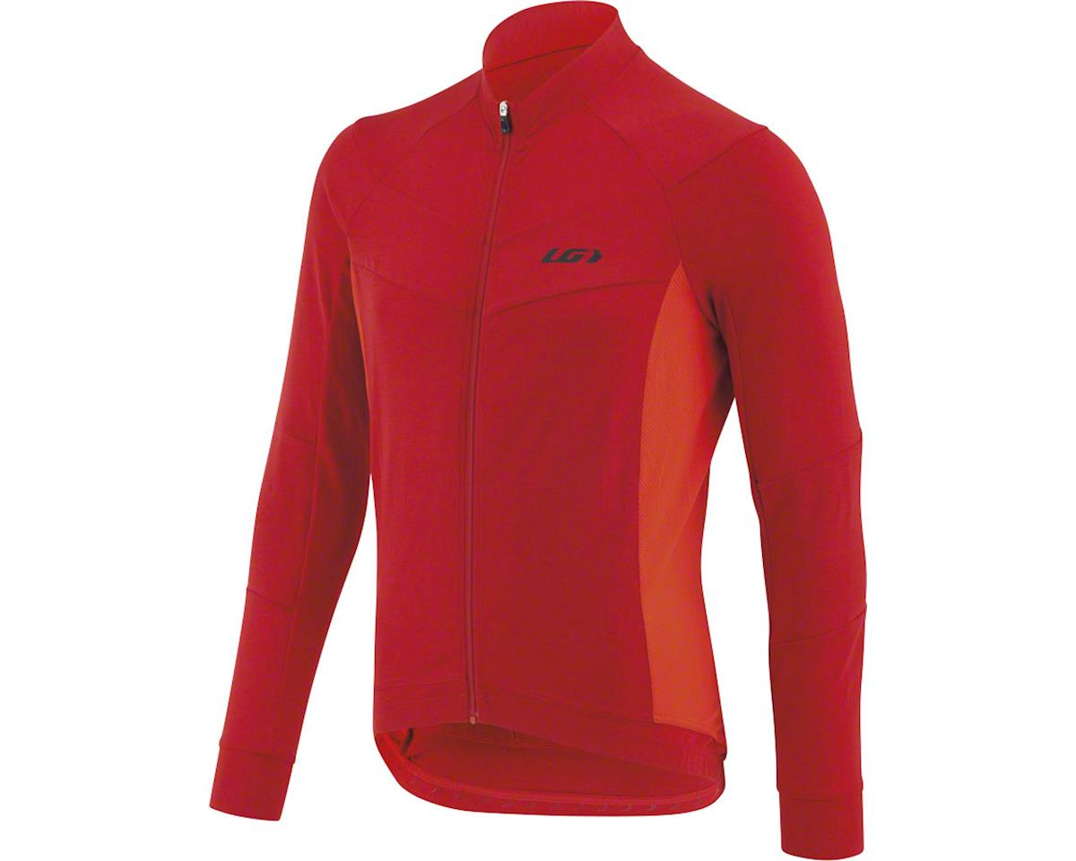 Louis Garneau Lemmon Long Sleeve Jersey (Barbados Cherry) (S)