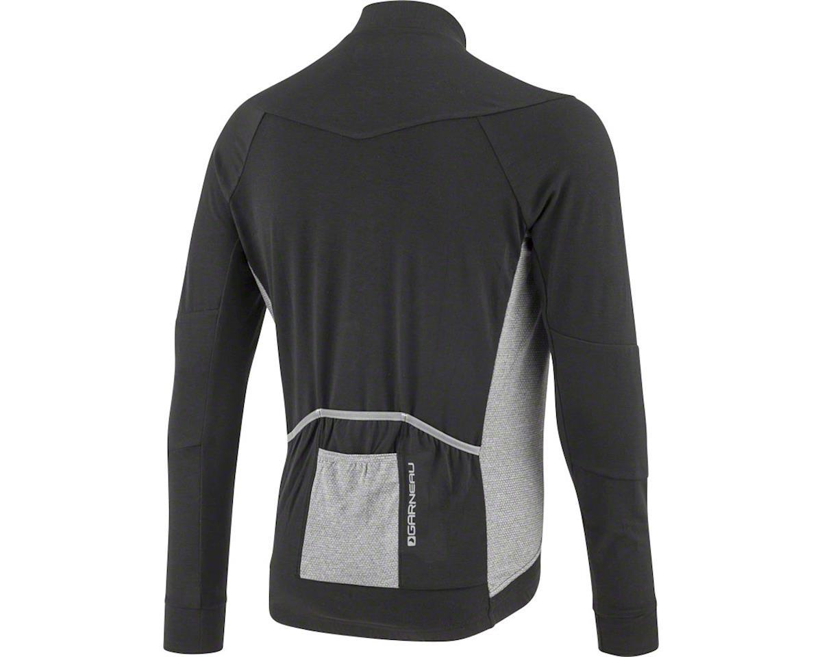Louis Garneau Lemmon Long Sleeve Jersey (Black/Grey)