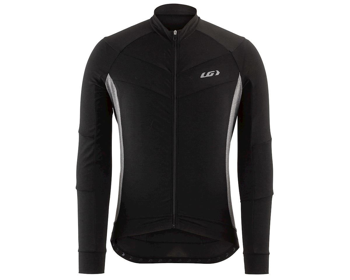 Louis Garneau Lemmon Long Sleeve Jersey (Black/Grey) (S)