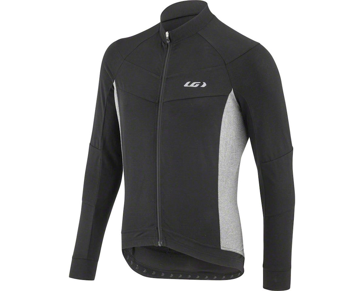 Louis Garneau Lemmon Long Sleeve Jersey (Black/Grey) (XL)