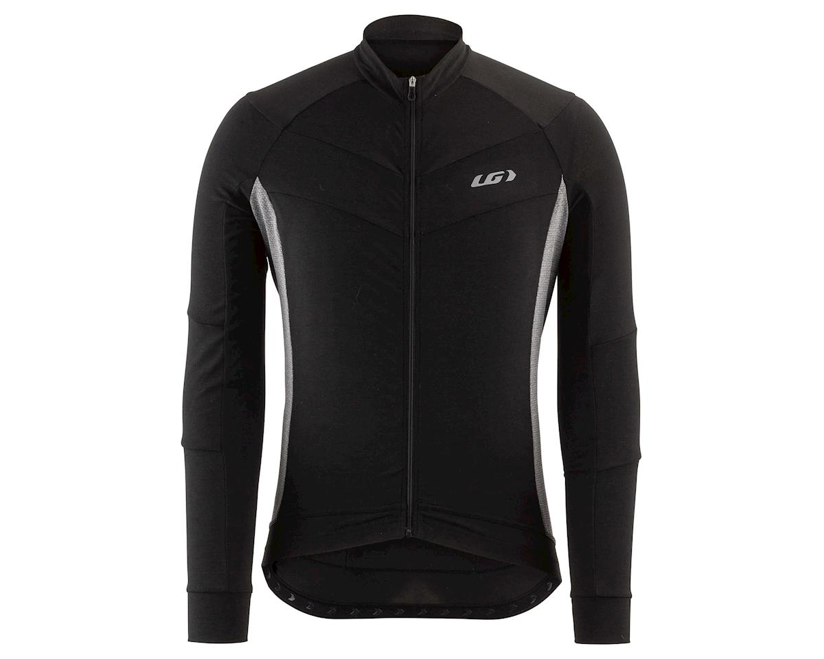 Louis Garneau Lemmon Long Sleeve Jersey (Black/Grey) (2XL)