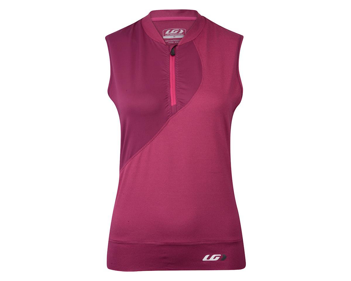 Louis Garneau Women's Stella Sleeveless Jersey (Purple/Stripe) (S)