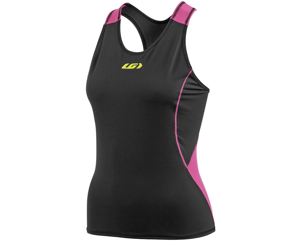 Louis Garneau Womens Comp Tri Tank (Pink/Black)