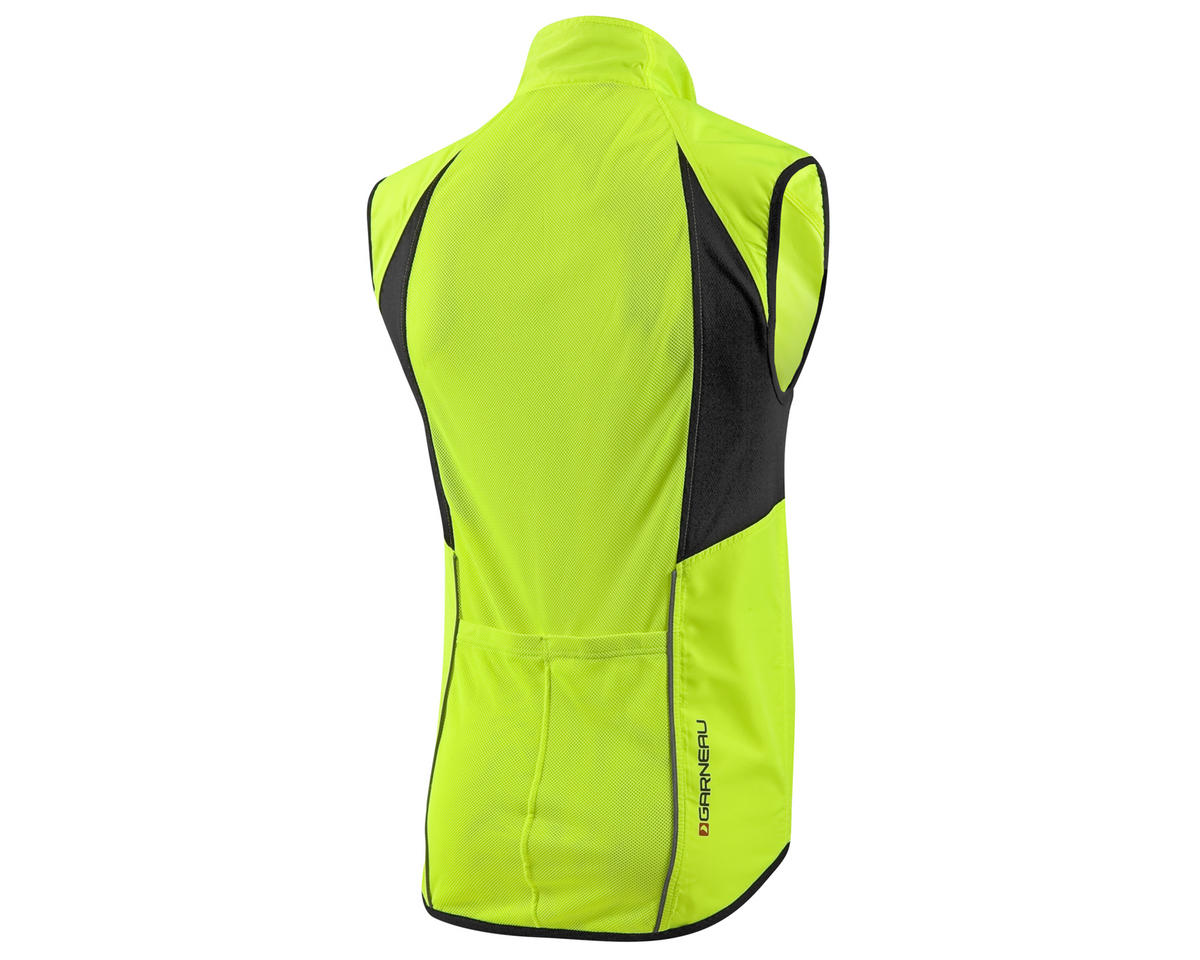 Louis Garneau Nova Bike Vest (Bright Yellow) (S)