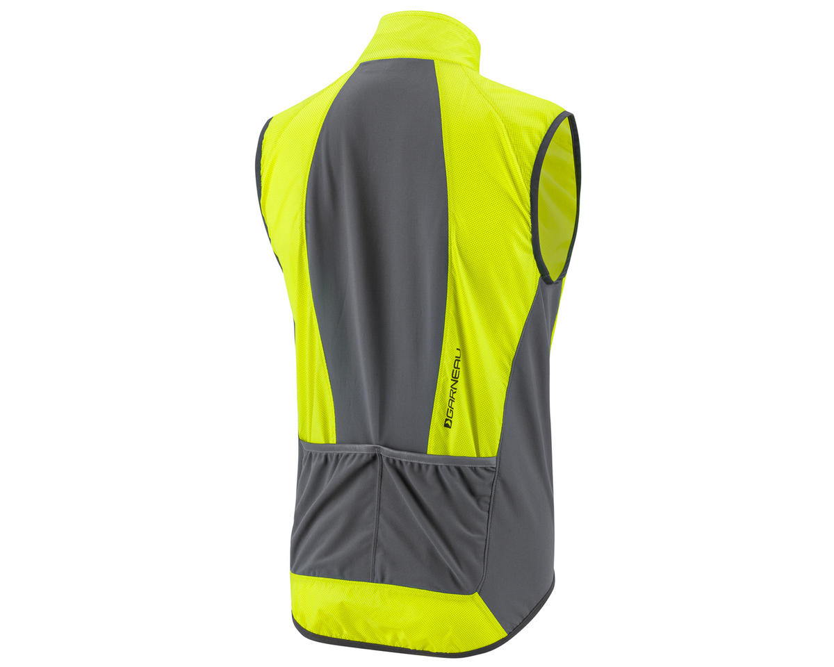 Louis Garneau Blink RTR Cycling Vest (Bright Yellow) (XL)