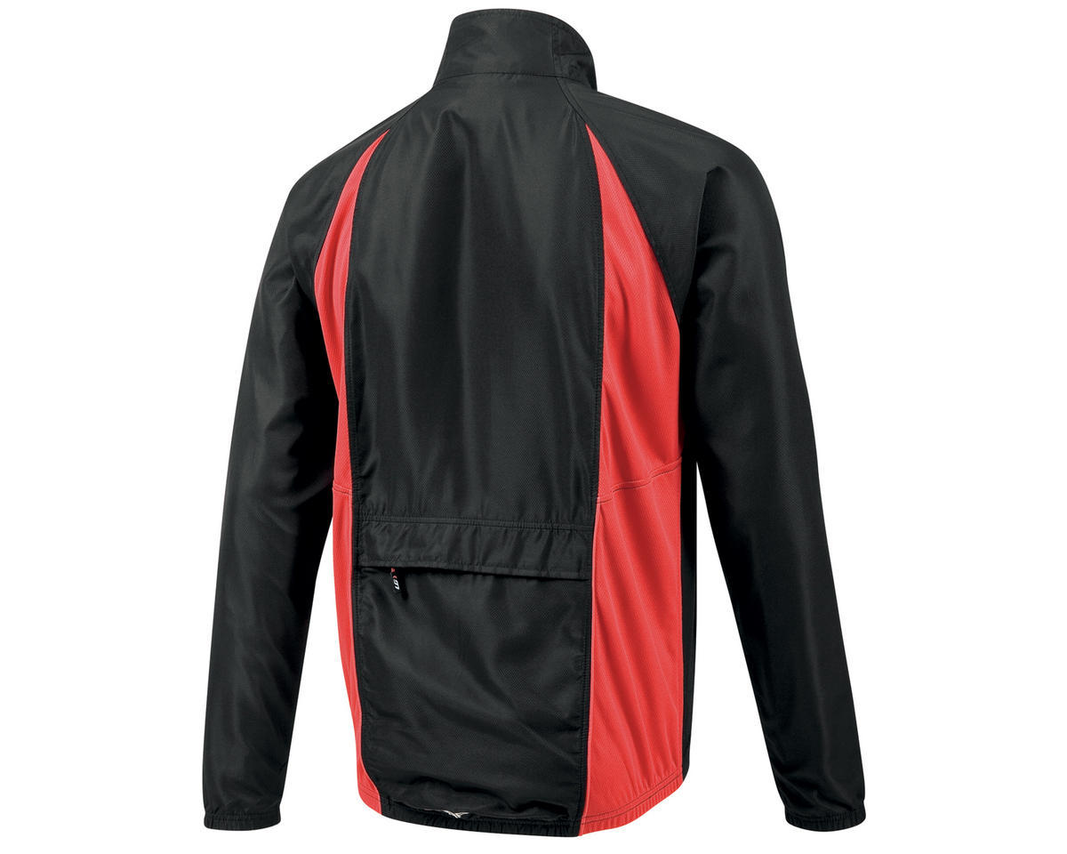 Louis Garneau Modesto 2 Bike Jacket (Black/Red)