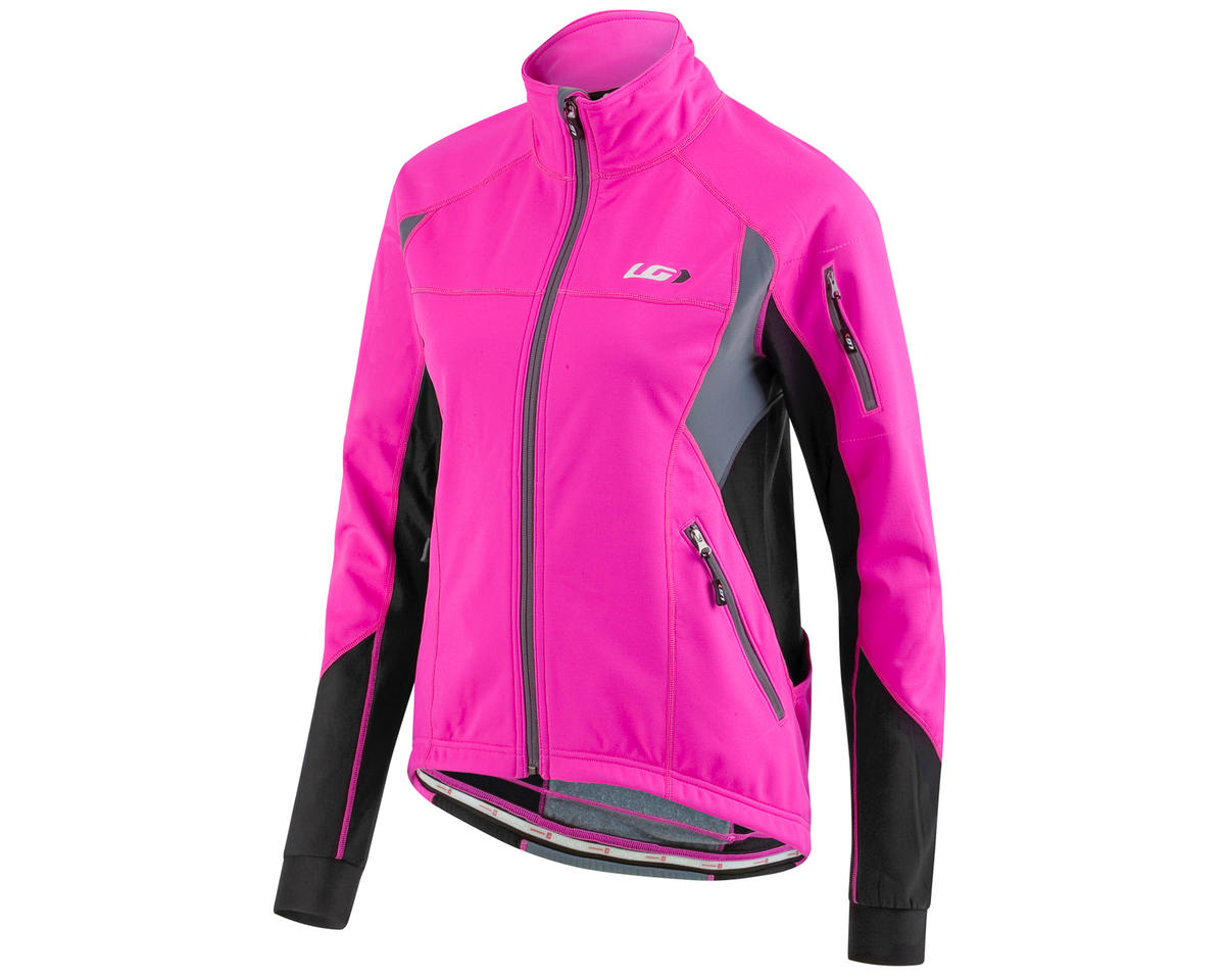 Louis Garneau EnerBlock Women's Bike Jacket 2 (Pink Glow) (L)
