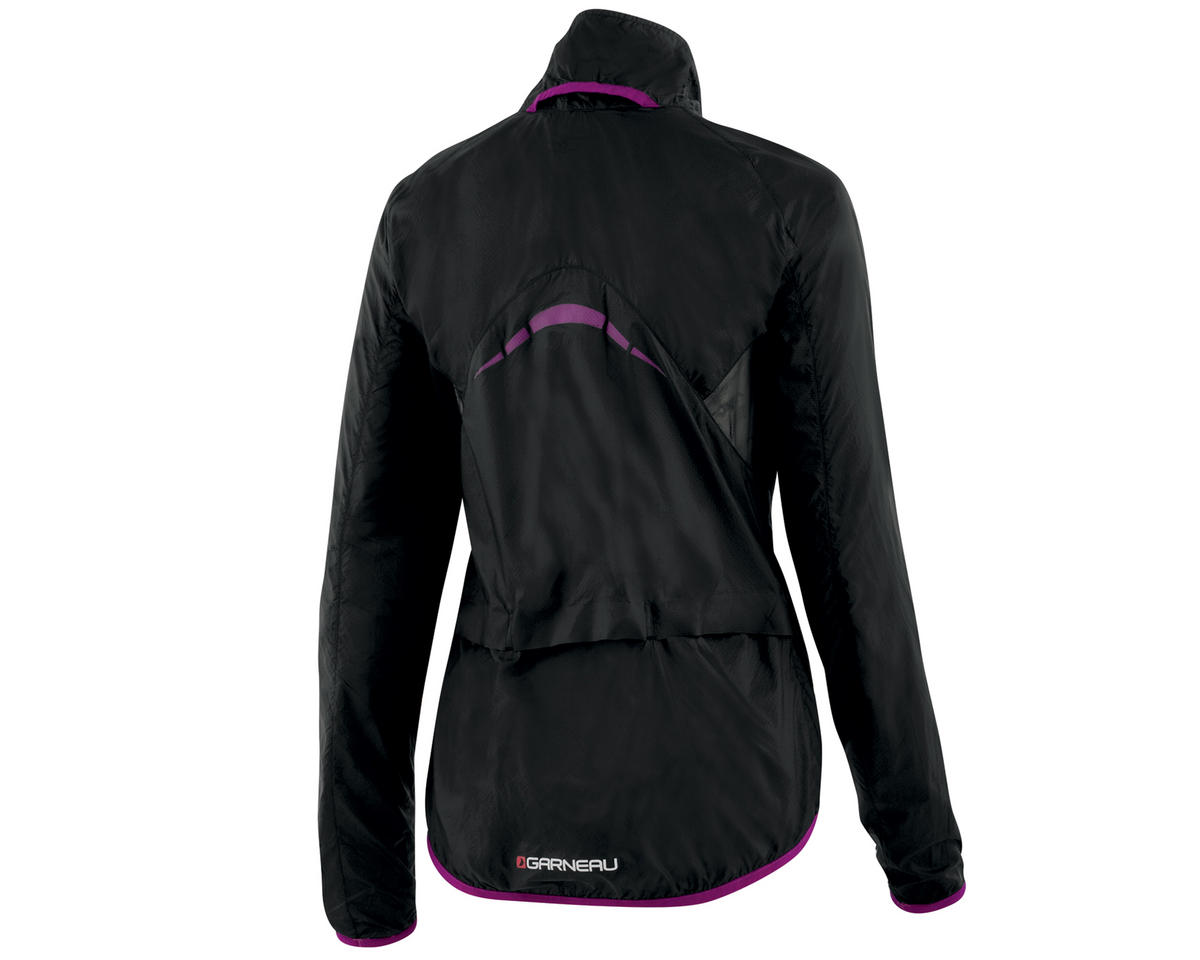 Louis Garneau X-Lite Women's Bike Jacket (Black/Purple)