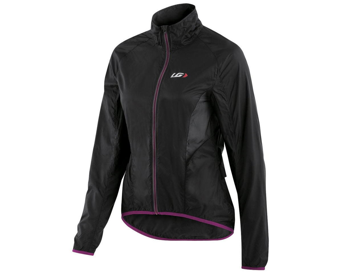 Louis Garneau X-Lite Women's Bike Jacket (Black/Purple) (M)