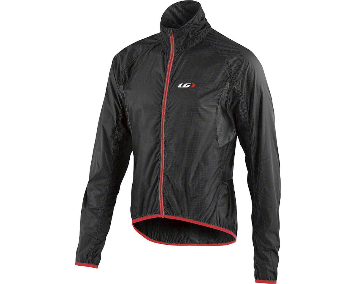 Louis Garneau X-Lite Jacket (Black/Red) (L)