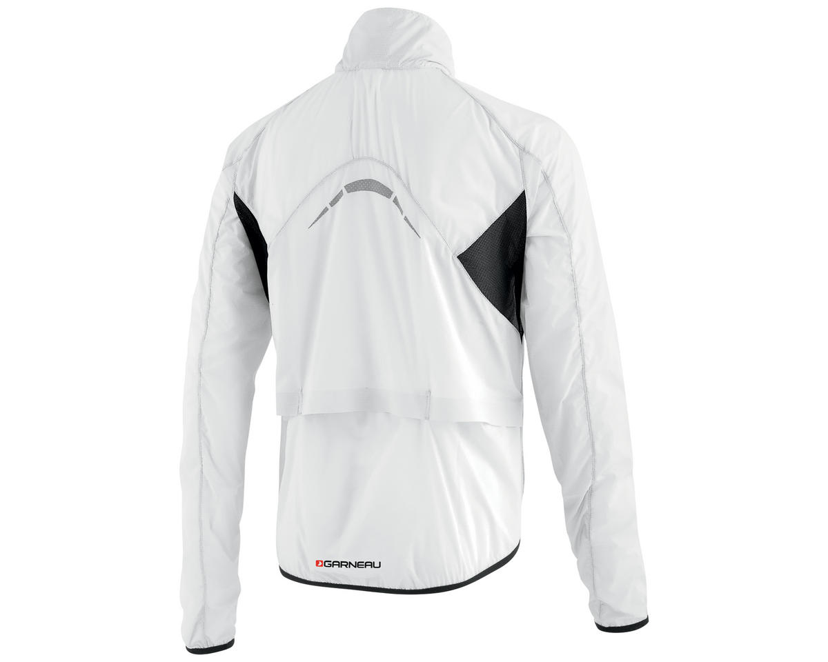 Louis Garneau X-Lite Bike Jacket (White/Black) (S)