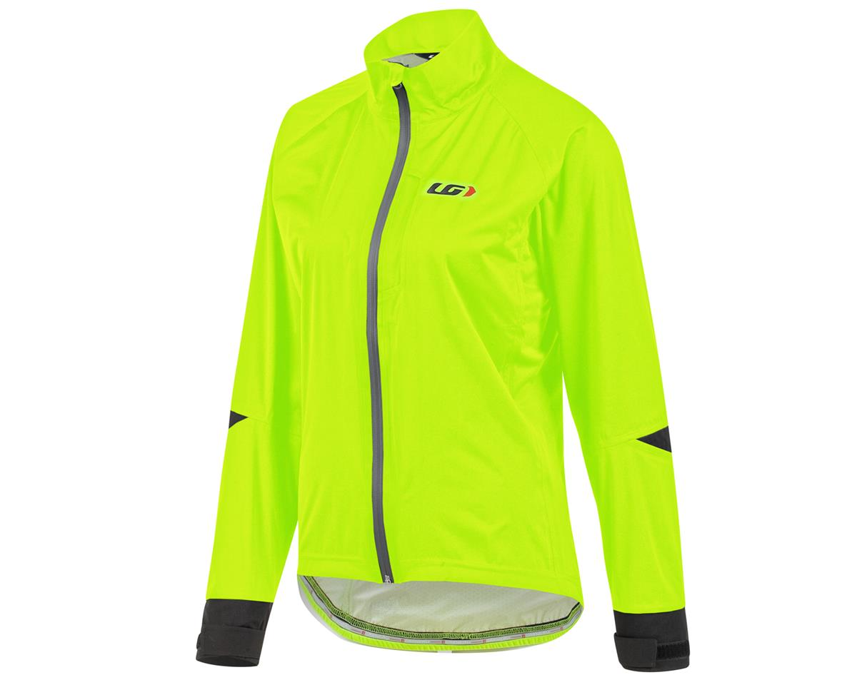 Louis Garneau Commit Waterproof Bike Jacket (Bright Yellow) (2XL)