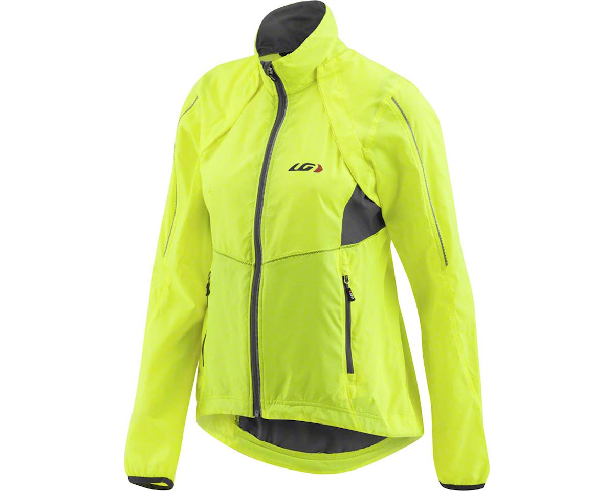 Louis Garneau Women's Cabriolet Cycling Jacket (Bright Yellow)