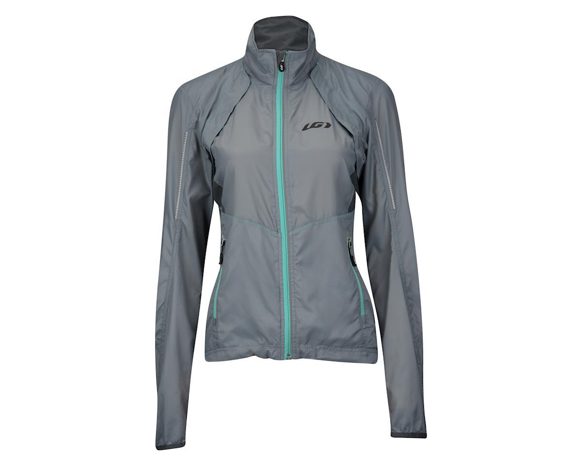 Louis Garneau Women's Cabriolet Jacket (Steel Grey/Blue) (L)
