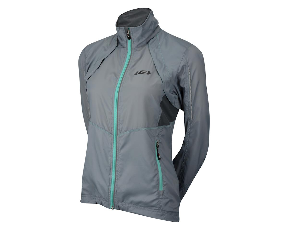 Louis Garneau Women's Cabriolet Jacket (Steel Grey/Blue) (XL)