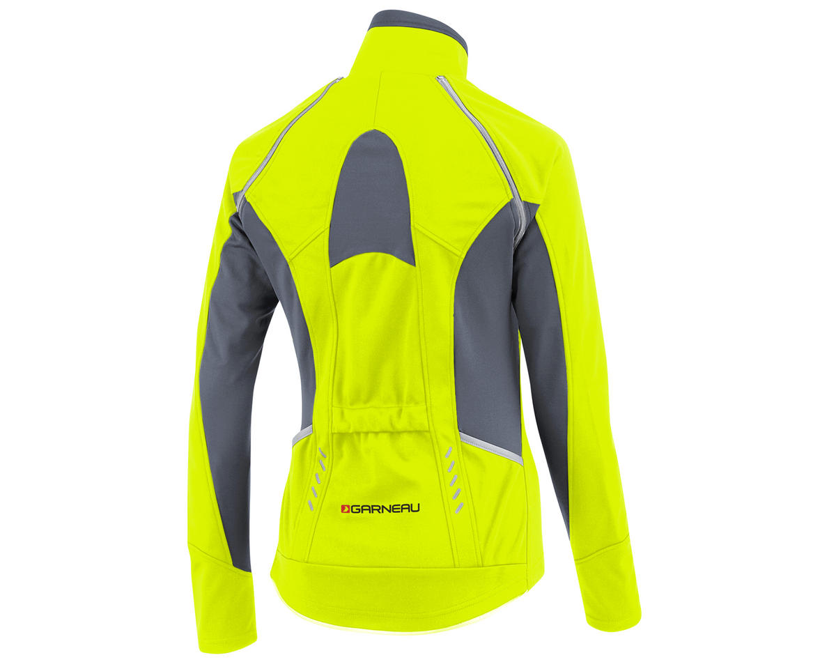 Louis Garneau Spire Women's Convertible Bike Jacket (Bright Yellow)