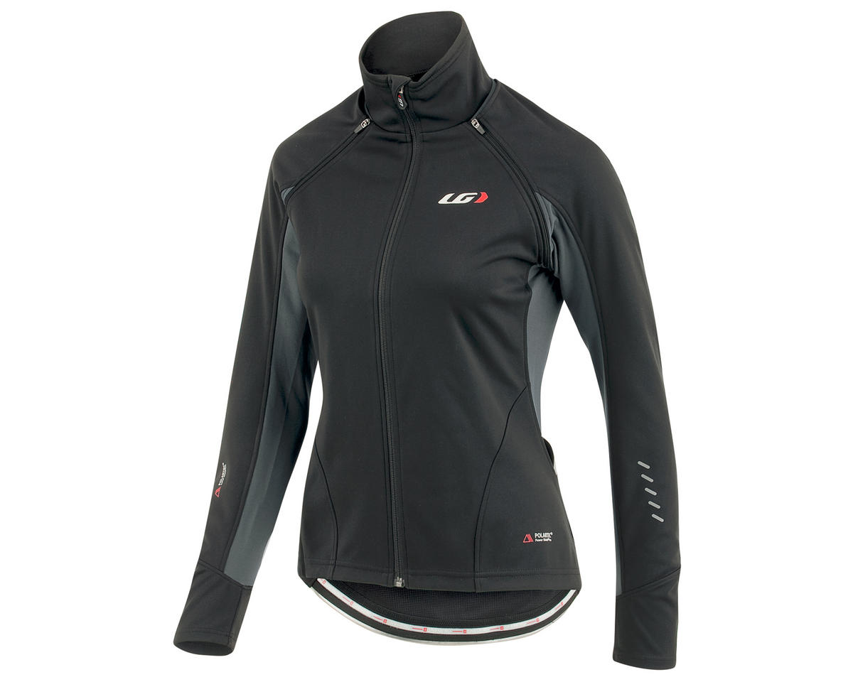 Spire Women's Convertible Bike Jacket (Black/Gray)