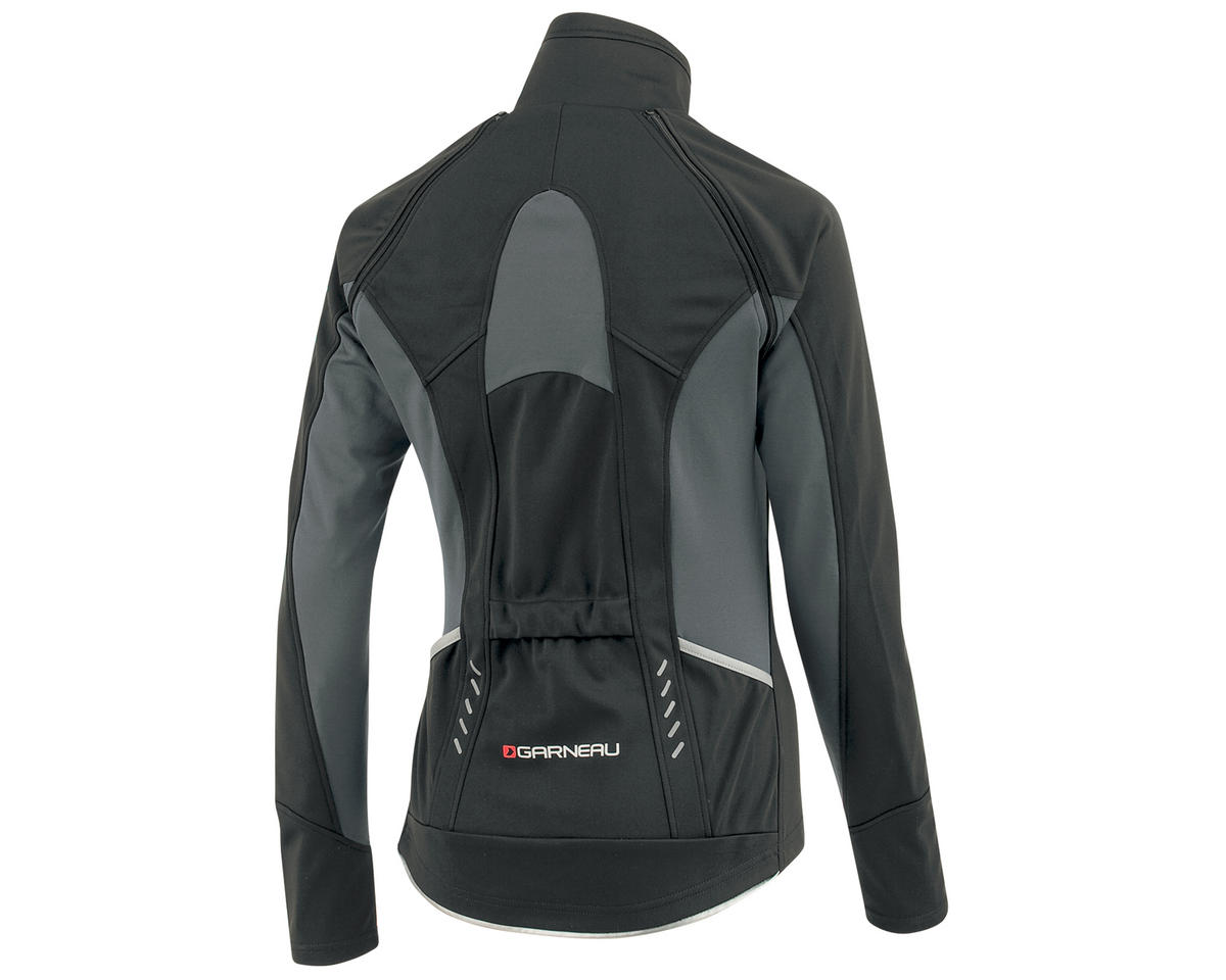 Louis Garneau Spire Women s Convertible Bike Jacket (Black Gray)   1030210251-P   a56e00cef