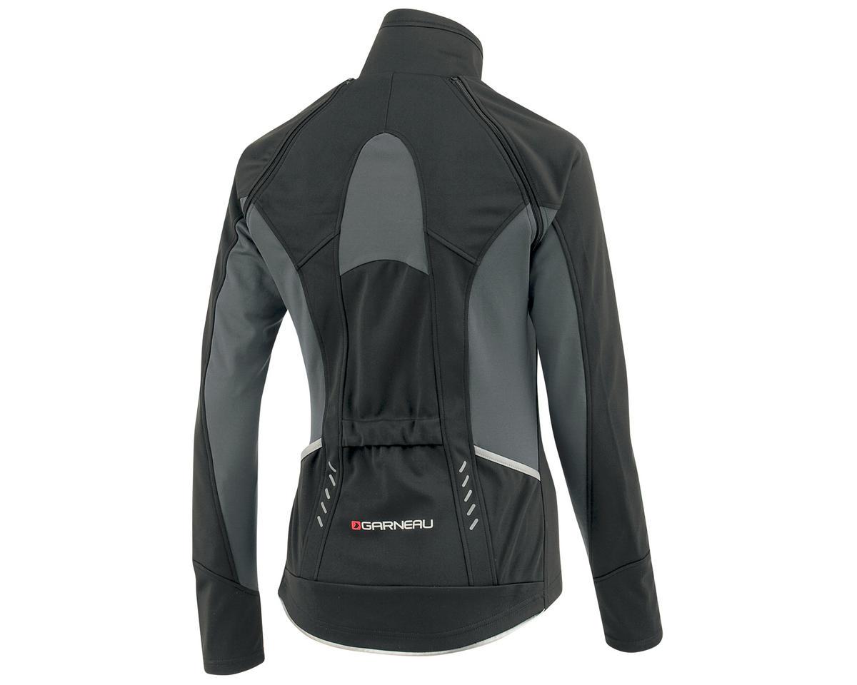 Louis Garneau Spire Women's Convertible Bike Jacket (Black/Gray) (M)