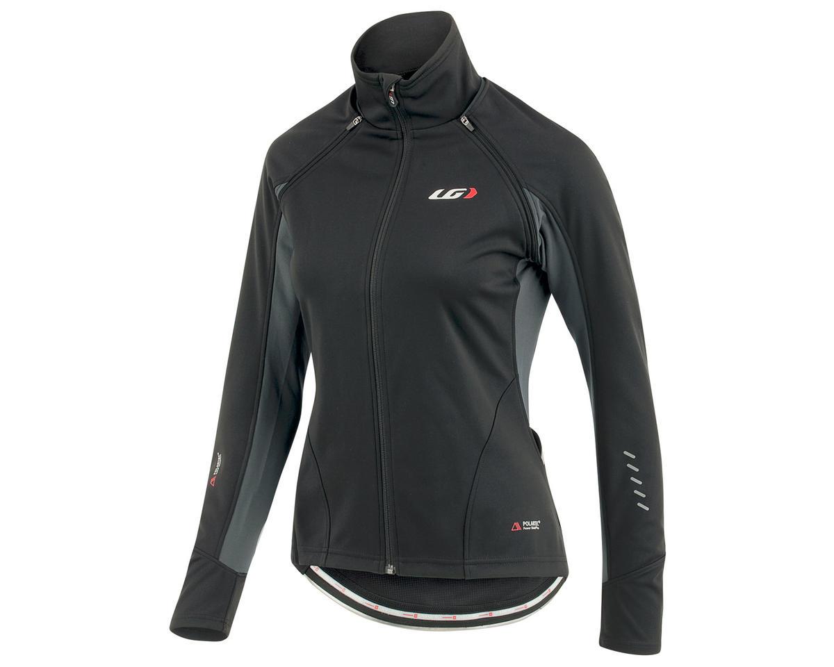 Louis Garneau Spire Women's Convertible Bike Jacket (Black/Gray) (S)