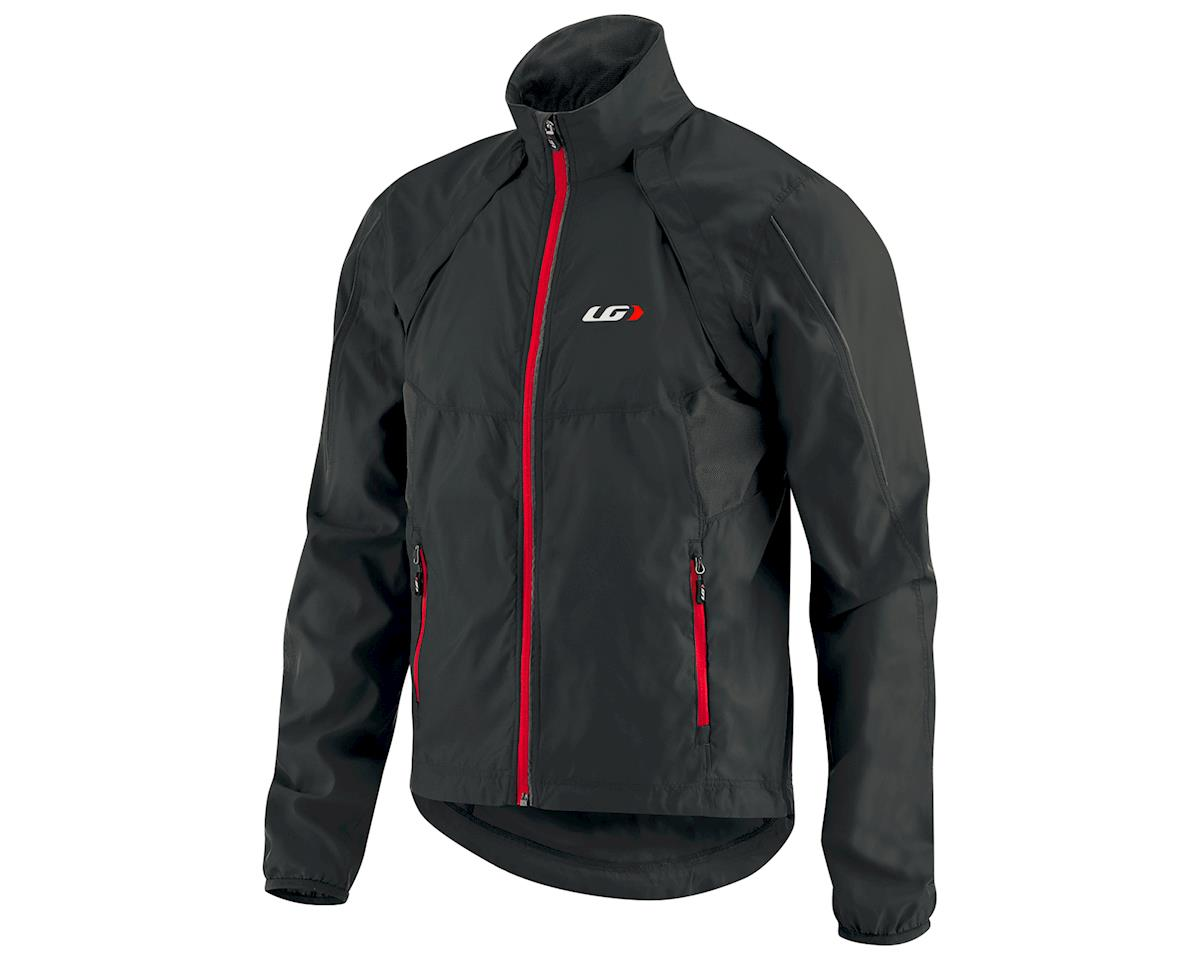 Louis Garneau Cabriolet Bike Jacket (Black/Red) (XL)