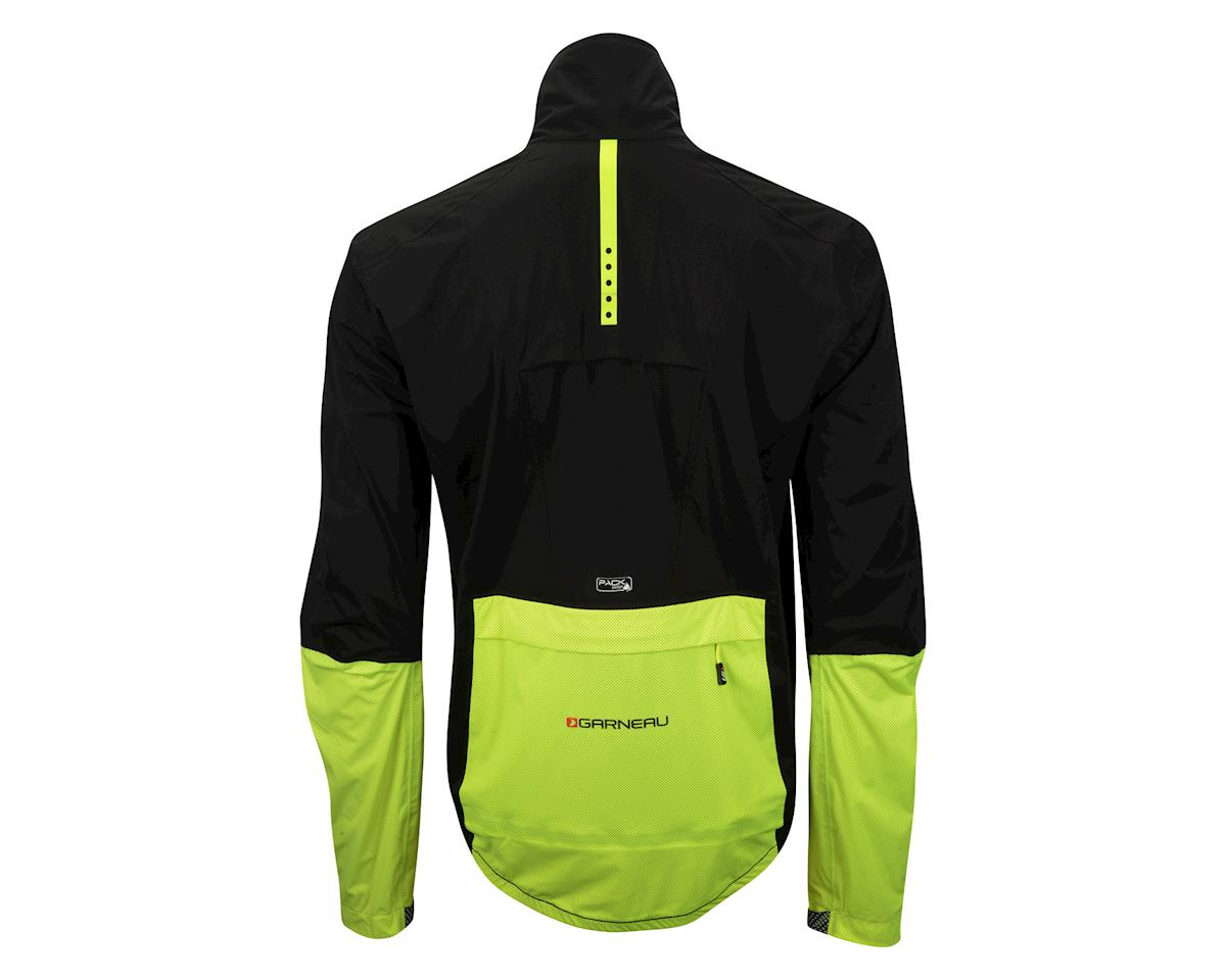 Louis Garneau Torrent RTR Jacket (Matte Black/High Vis Yellow) (S)
