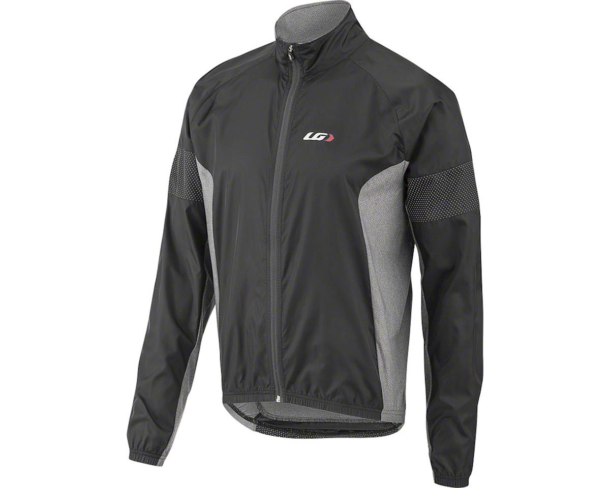 Louis Garneau Modesto 3 Cycling Jacket (Black/Grey) (S)