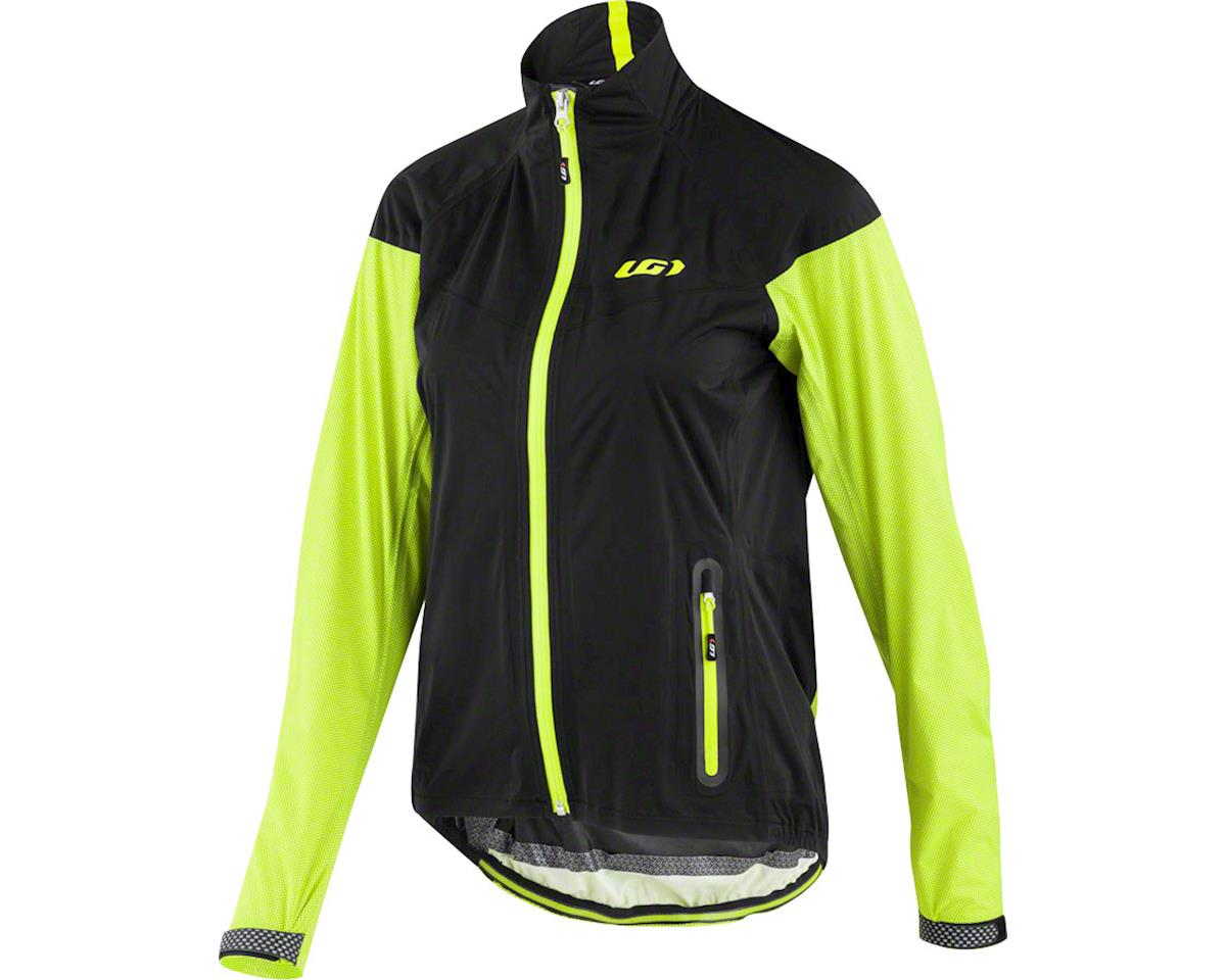 Louis Garneau Women's Torrent RTR Jacket (Black/Yellow) (L)