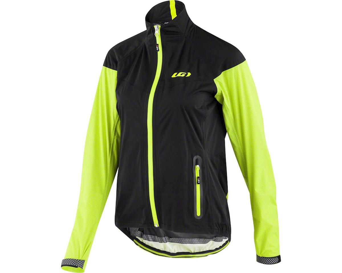 Louis Garneau Women's Torrent RTR Jacket (Black/Yellow) (M)