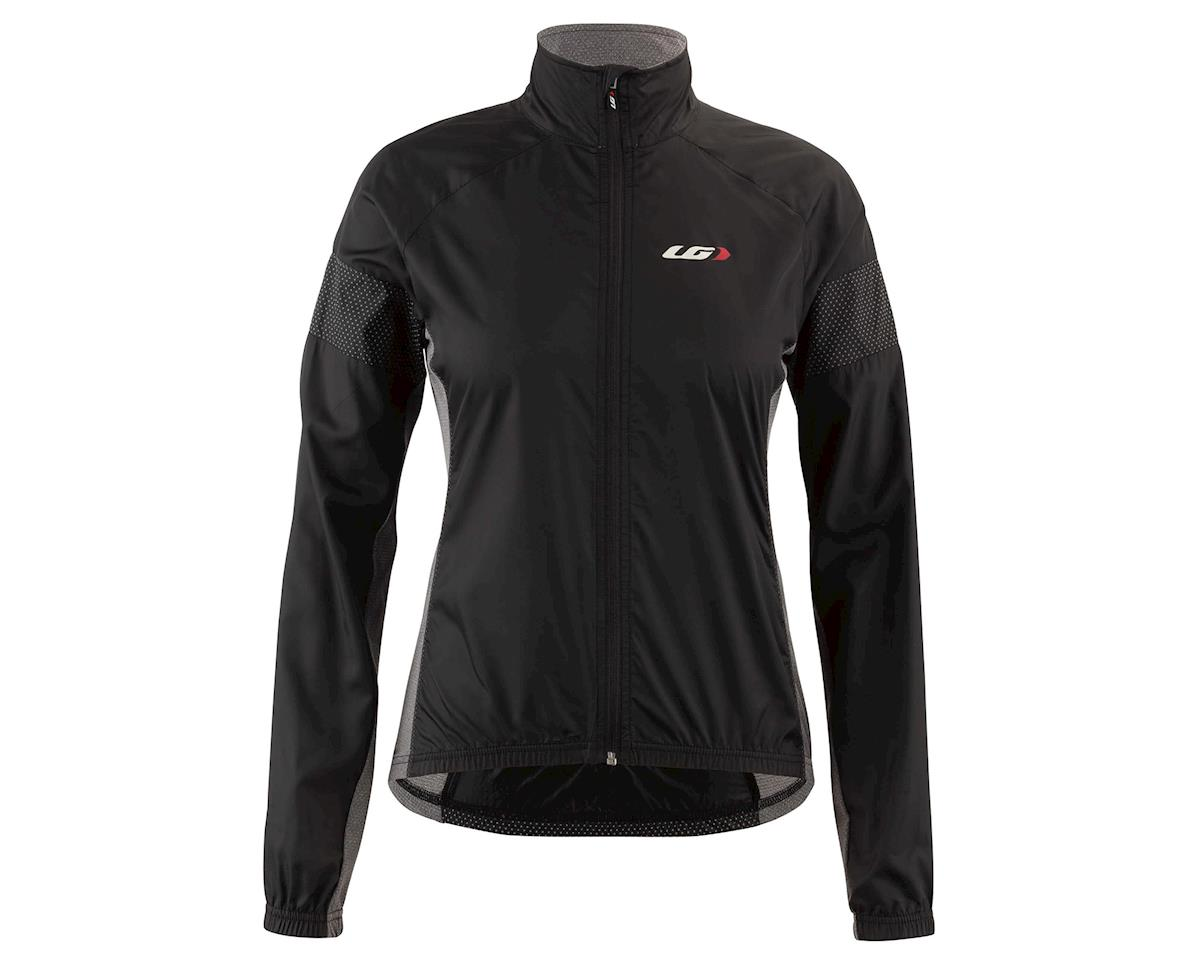 Louis Garneau Women's  Modesto 3 Cycling Jacket (Black/Gray) (XL)
