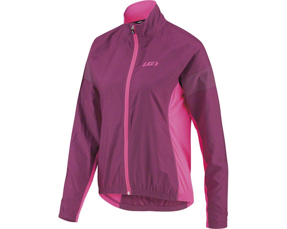 Louis Garneau Women's  Modesto 3 Cycling Jacket  (Magenta/Purple) (L)