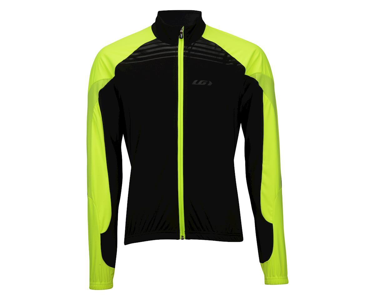 Louis Garneau Glaze 3 RTR Jacket (Black/Yellow) (L)