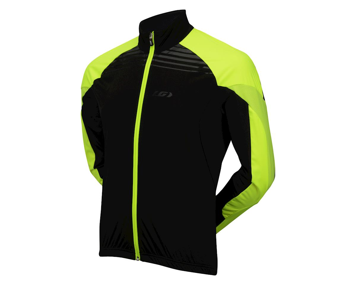 Louis Garneau Glaze 3 RTR Cycling Jacket (Black/Yellow) (S)