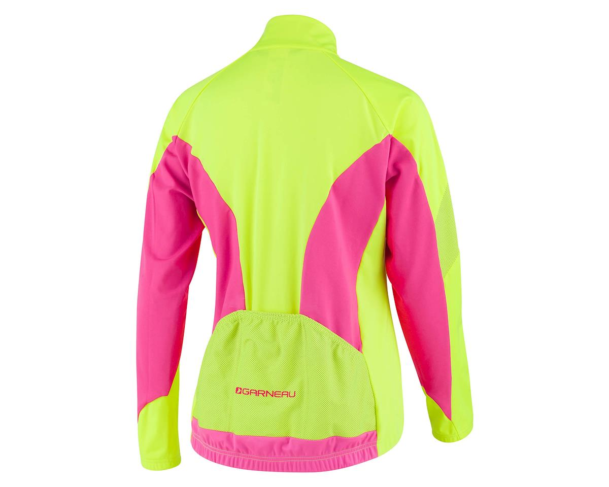 Louis Garneau Women's Glaze 3 RTR Jacket (Hivis/Pink) (L)