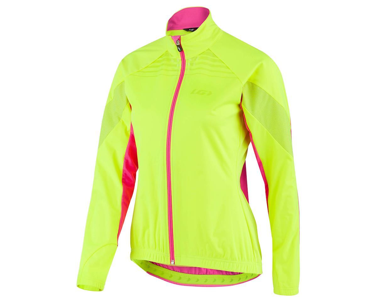 Louis Garneau Women's Glaze 3 RTR Jacket (Hivis/Pink) (S)