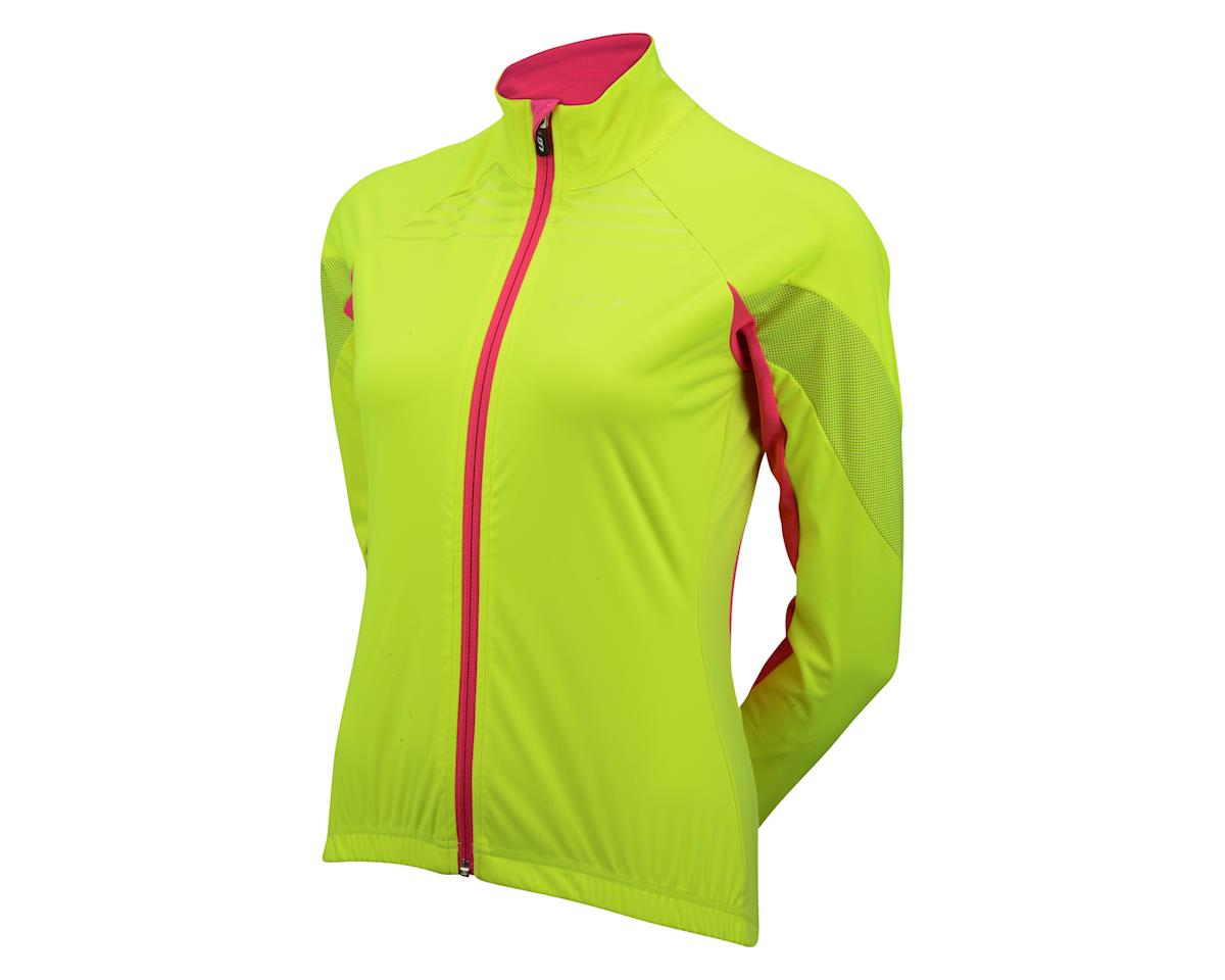 Louis Garneau Women's Glaze 3 RTR Jacket (Hivis/Pink) (XL)