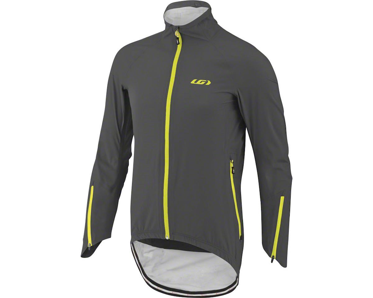 Louis Garneau 4 Seasons Jacket (Asphalt/Yellow) (L)