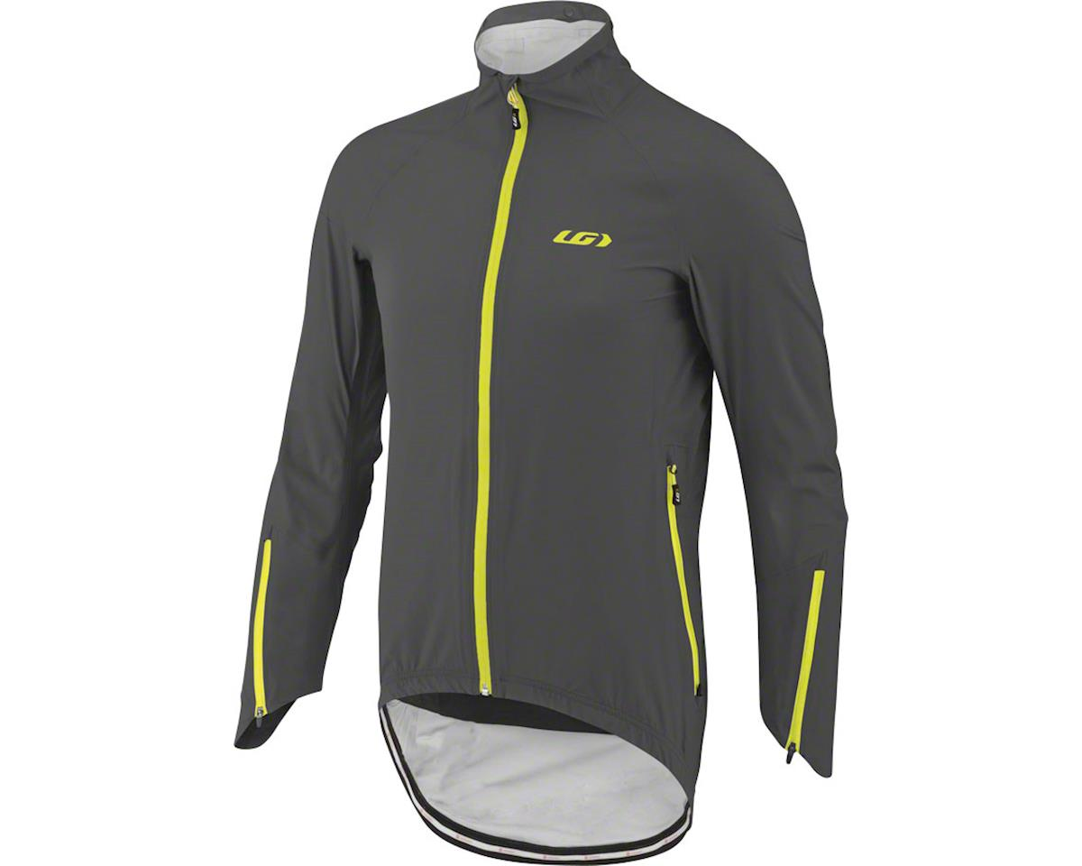 Louis Garneau 4 Seasons Men's Jacket (Asphalt/Yellow) (S)