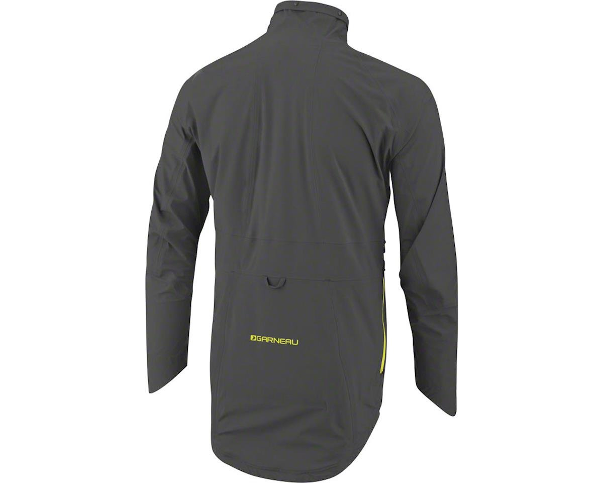 Louis Garneau 4 Seasons Jacket (Asphalt/Yellow) (XL)