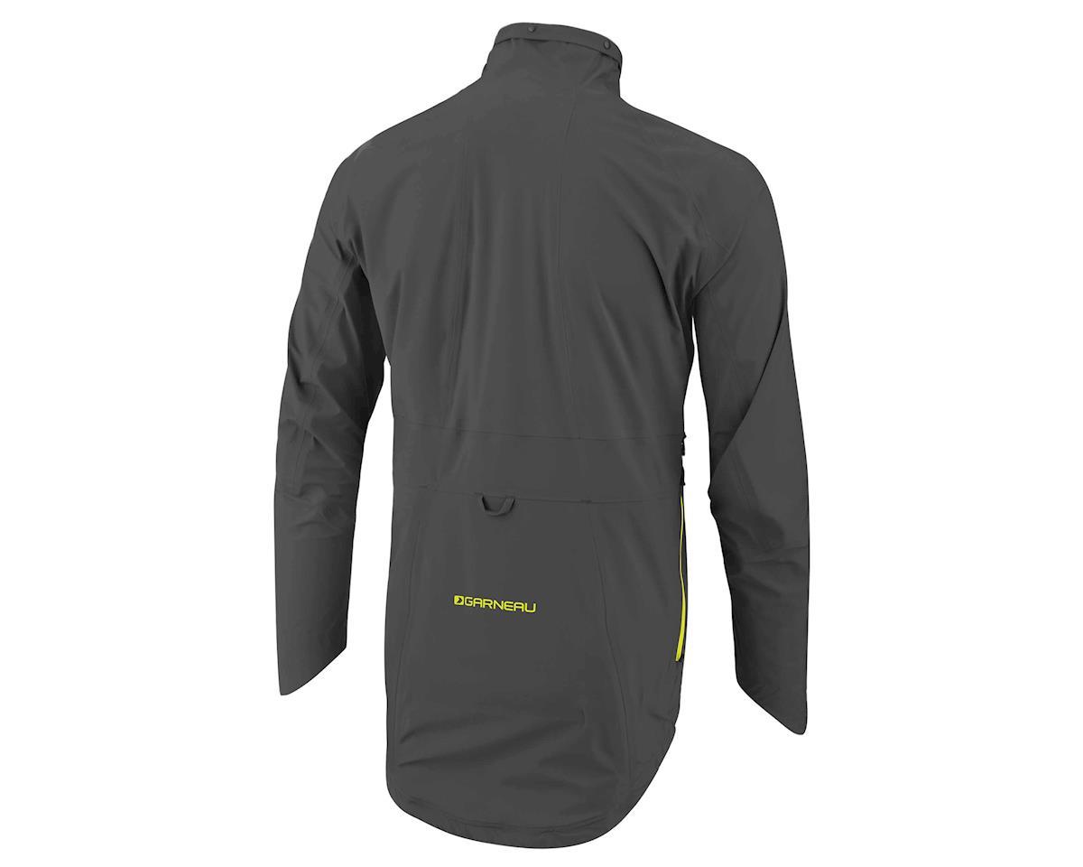 Louis Garneau 4 Seasons Jacket (Asphalt/Yellow) (2XL)
