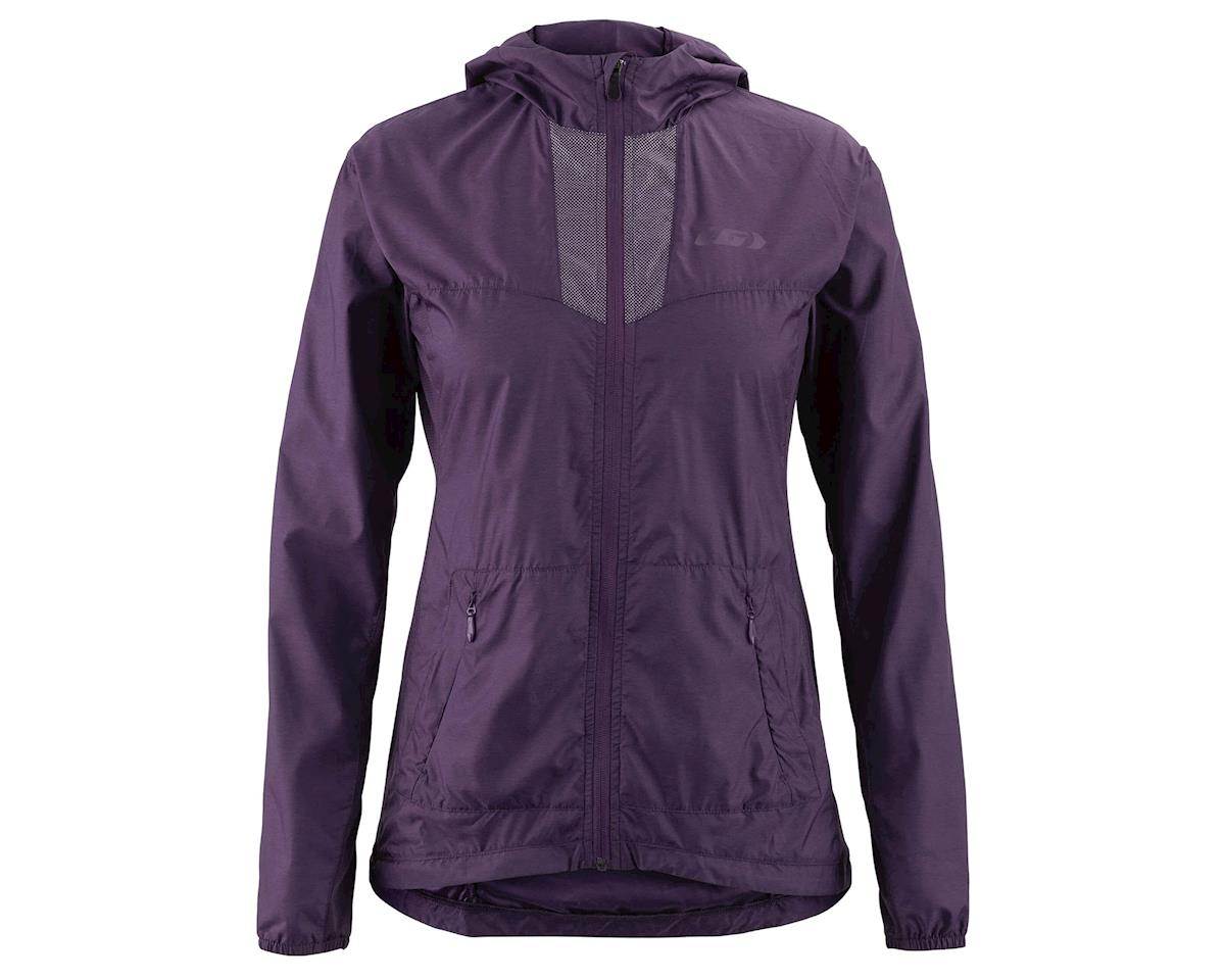 Louis Garneau Women's Modesto Hooded Jacket (Logan Berry)